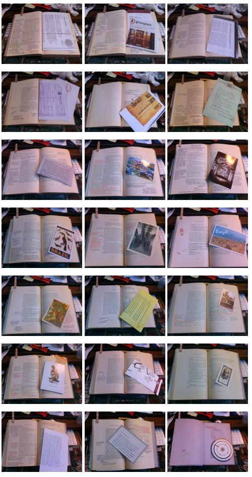 Emplacement des documents dans le livre Docs
