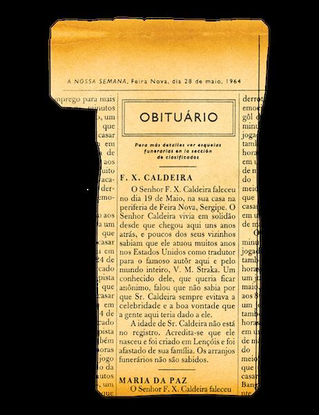 Nécrologie de F.X. Caldeira Newspaper_t-1p